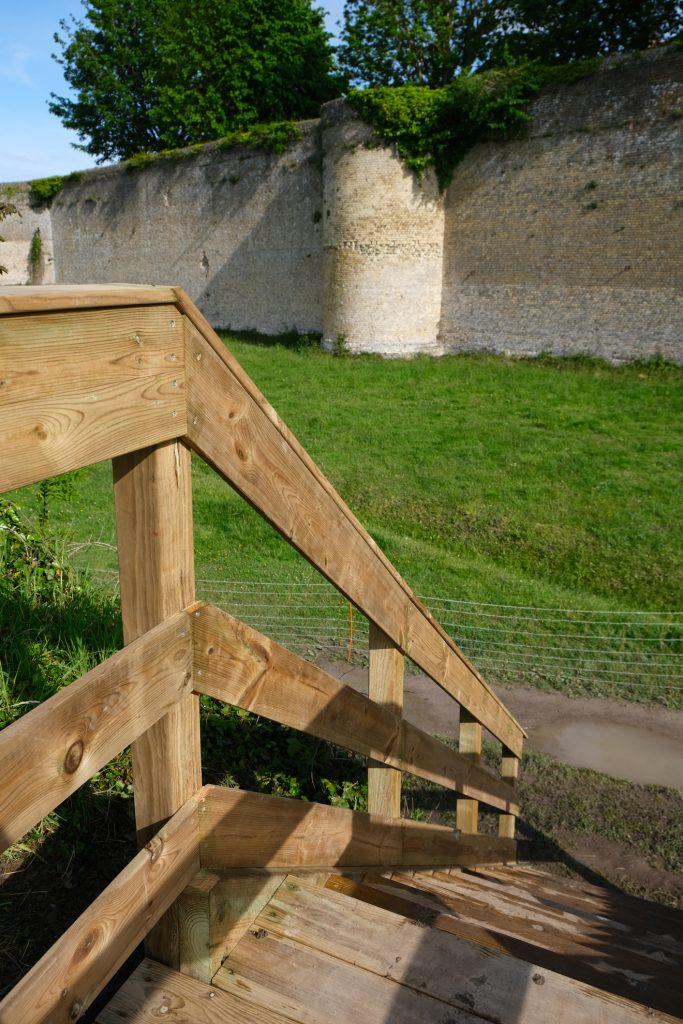 Escalier sur-mesure   Rempart de Bergues / Dunkerque